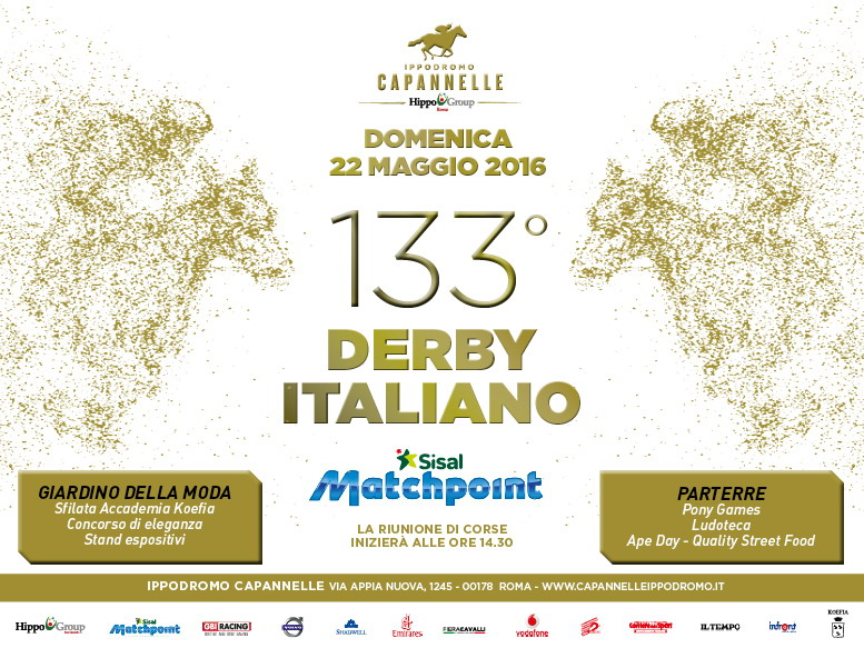 Banner RDS133° derby italiano